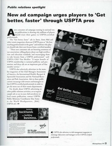 Page 23 of Junior Olympics: a winning experience for Little Tennis players