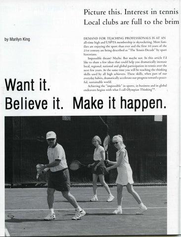 Page 26 of Want it. Believe it. Make it happen.