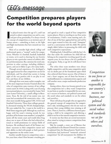Page 5 of Competition prepares players for the world beyond sports