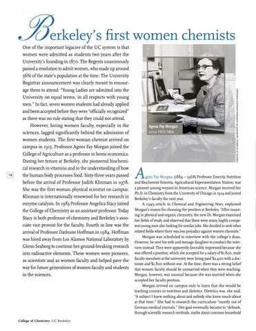 Page 16 of Berkeley's First Women Chemists