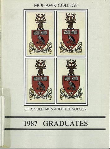 Mohawk College Yearbooks By Mohawk College Alumni Association Issuu