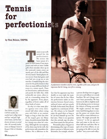 Page 12 of Tennis for Perfectionists