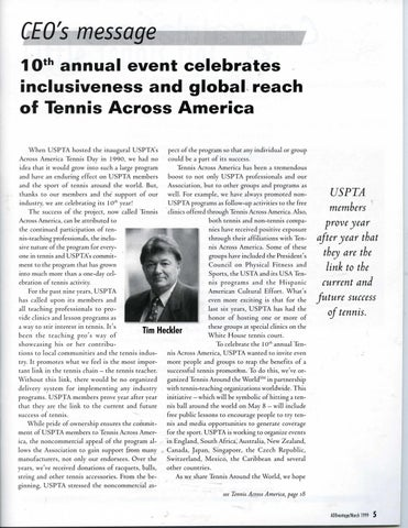 Page 7 of 10th annual event celebrates inclusiveness and global reach of Tennis Across America