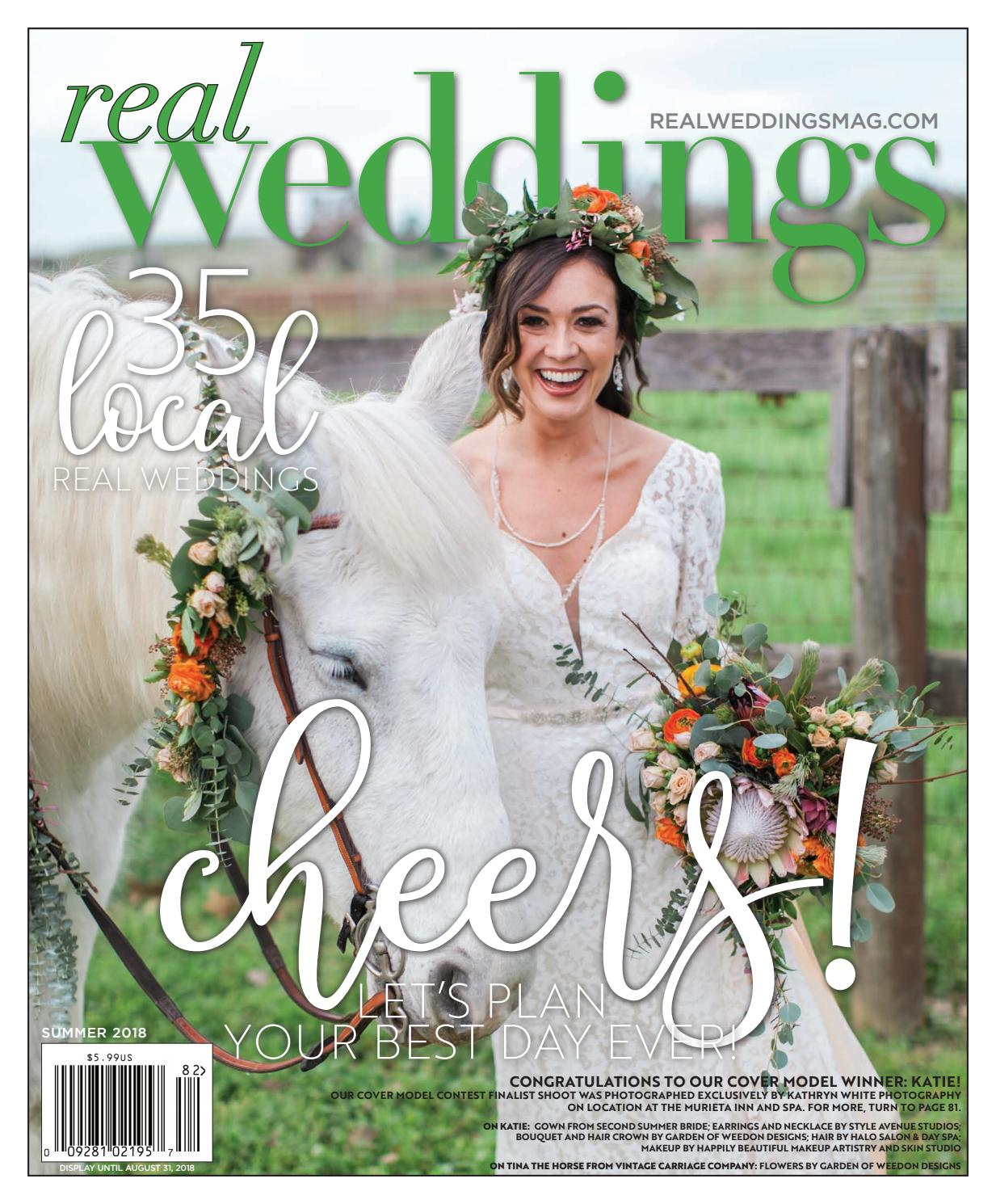 0d83484d52 Real Weddings Magazine - Summer Fall 2018 by Style Media Group - issuu