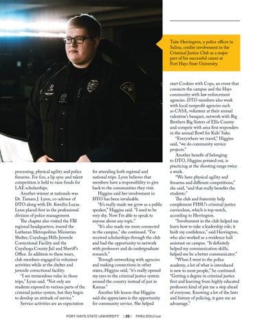 Page 27 of Campus Involvement = Preparedness