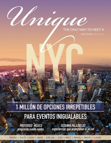 Unique   5 New York by L.D.G. STARSKY PALMA - issuu a170bee995b8