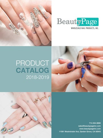 01478c3642d Beauty Page Product Catalog 2018 - 2019 by Cre8tion Products - issuu