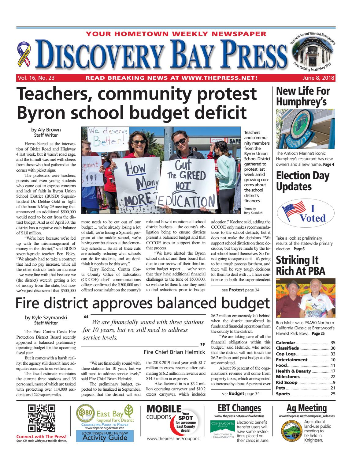 Discovery Bay Press 06.08.18 by Brentwood Press   Publishing - issuu cce288379