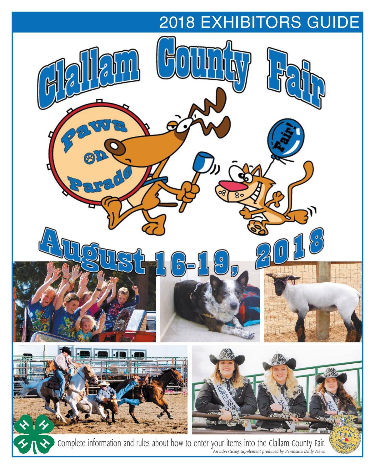 082c90441 Special Sections - Clallam County Fair Premium Book 2018 by Sound ...