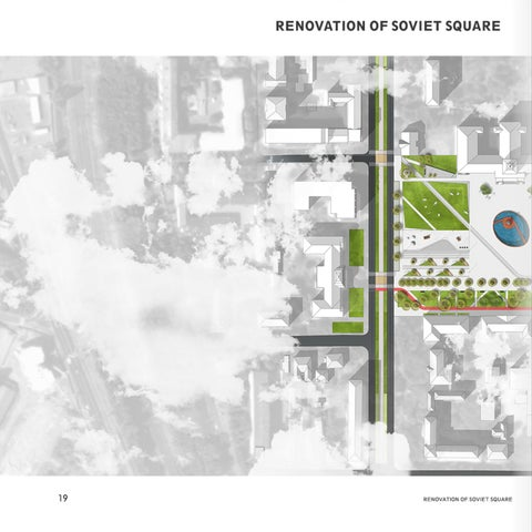 Page 22 of renovation of soviet square / competition