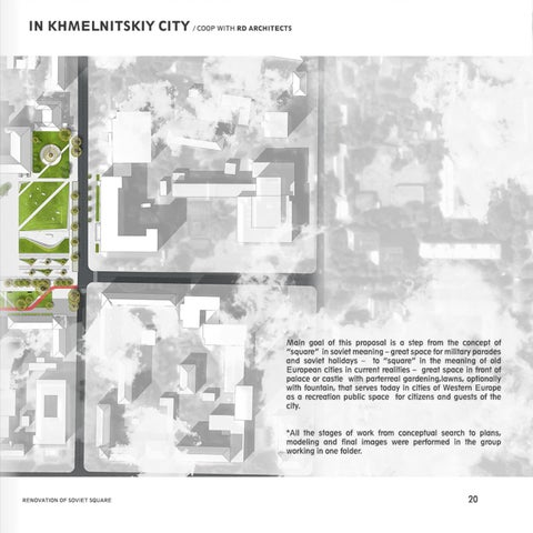 Page 23 of renovation of soviet square / competition