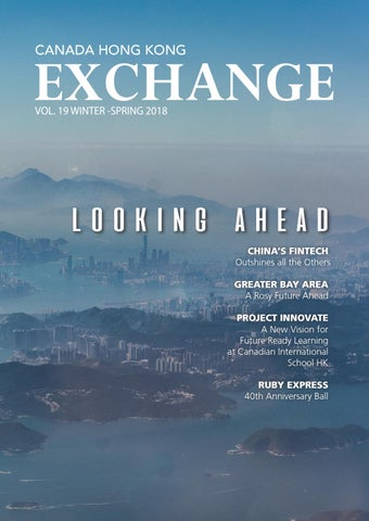bd9fc0948a1d Volume 19  Canada Hong Kong EXCHANGE by CanChamHK - issuu