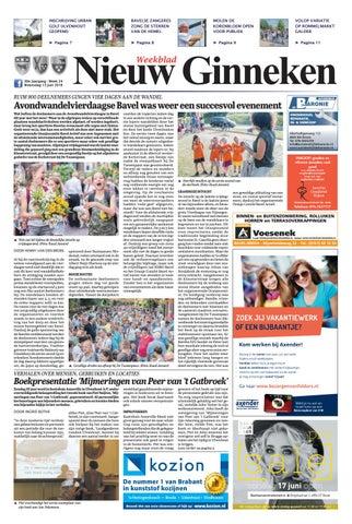 e209ee13771ab2 Weekblad Nieuw Ginneken 13-06-2018 by Uitgeverij Em de Jong - issuu