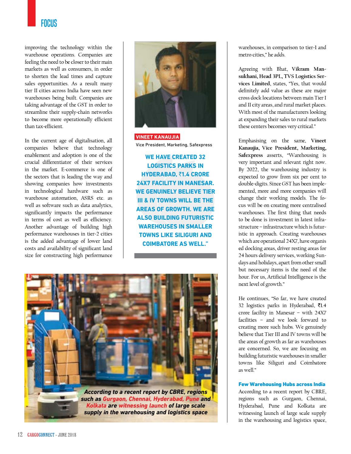 CARGOCONNECT June 2018 by Surecom Media - issuu