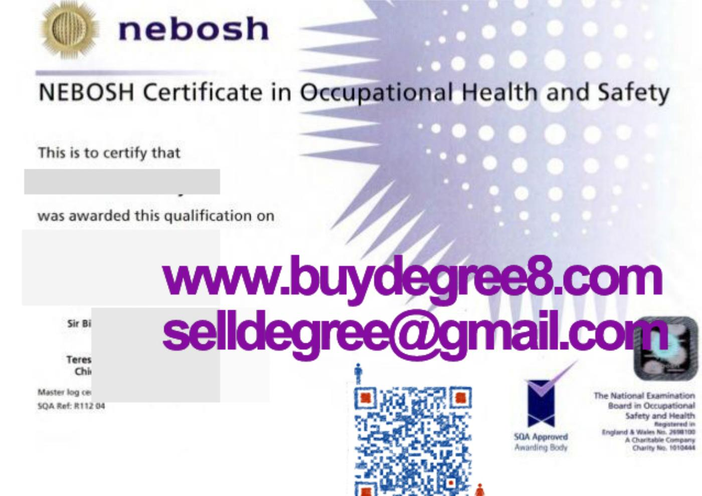 Buy Nebosh Certificate In Occupationl Health And Safetyselldegree