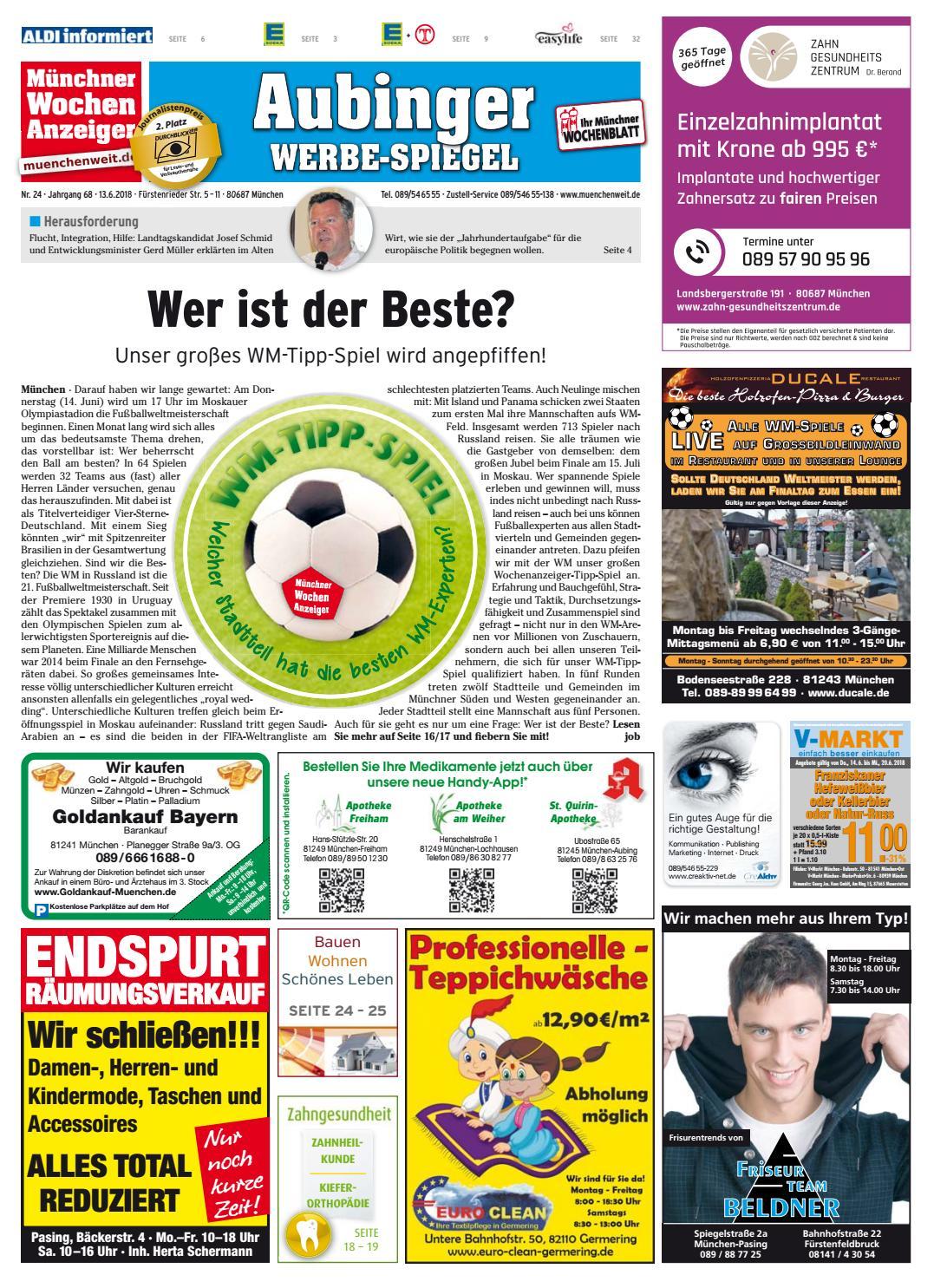 Kw 24 2018 By Wochenanzeiger Medien Gmbh Issuu