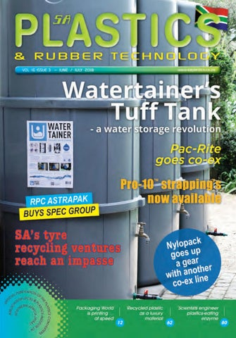 SA Plastics & Rubber Technology June-July 2018 by SA Plastics