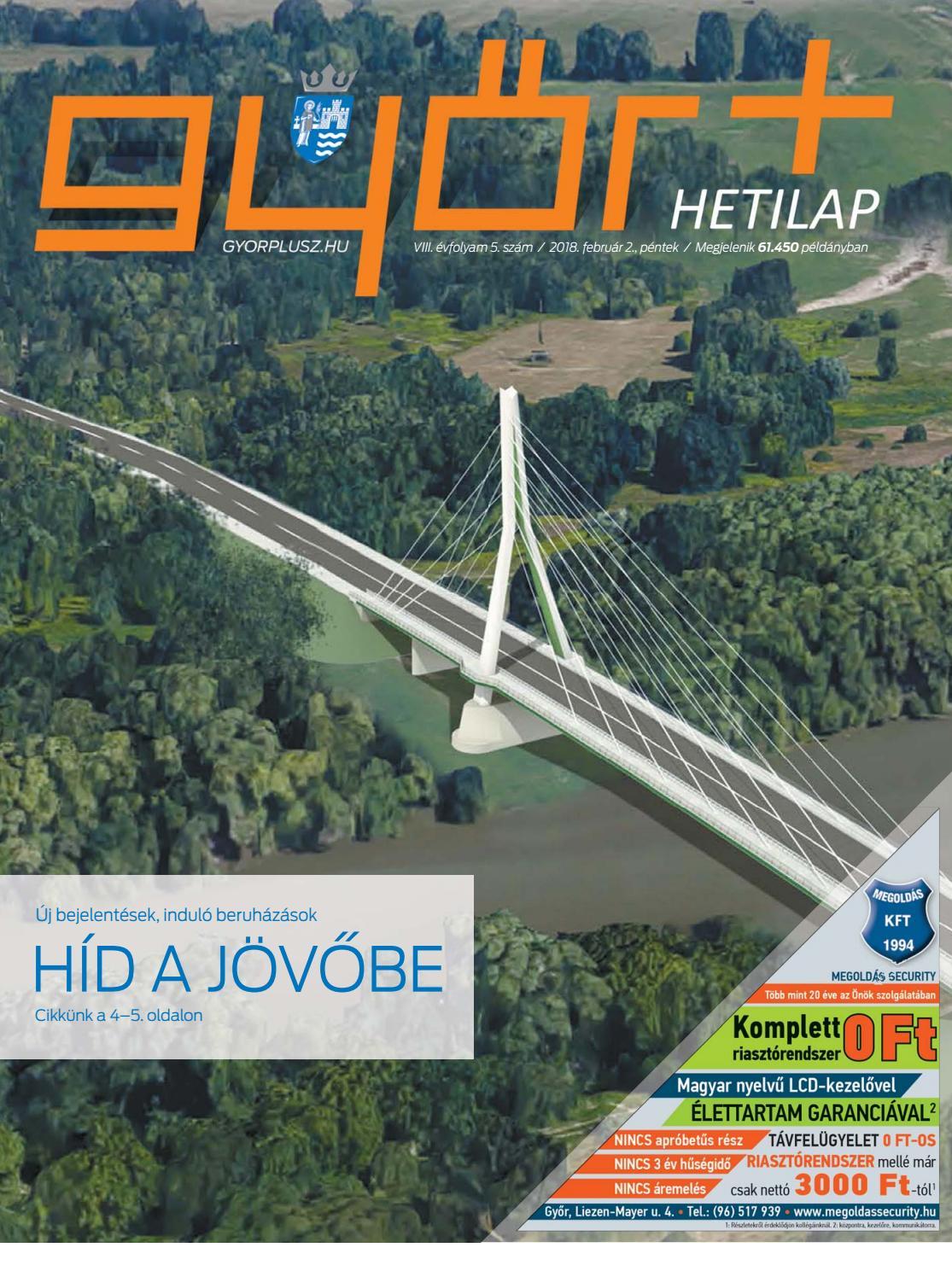 b234a768b2 Győr+ Hetilap – VIII. évfolyam 5. szám by Győr+ Média - issuu
