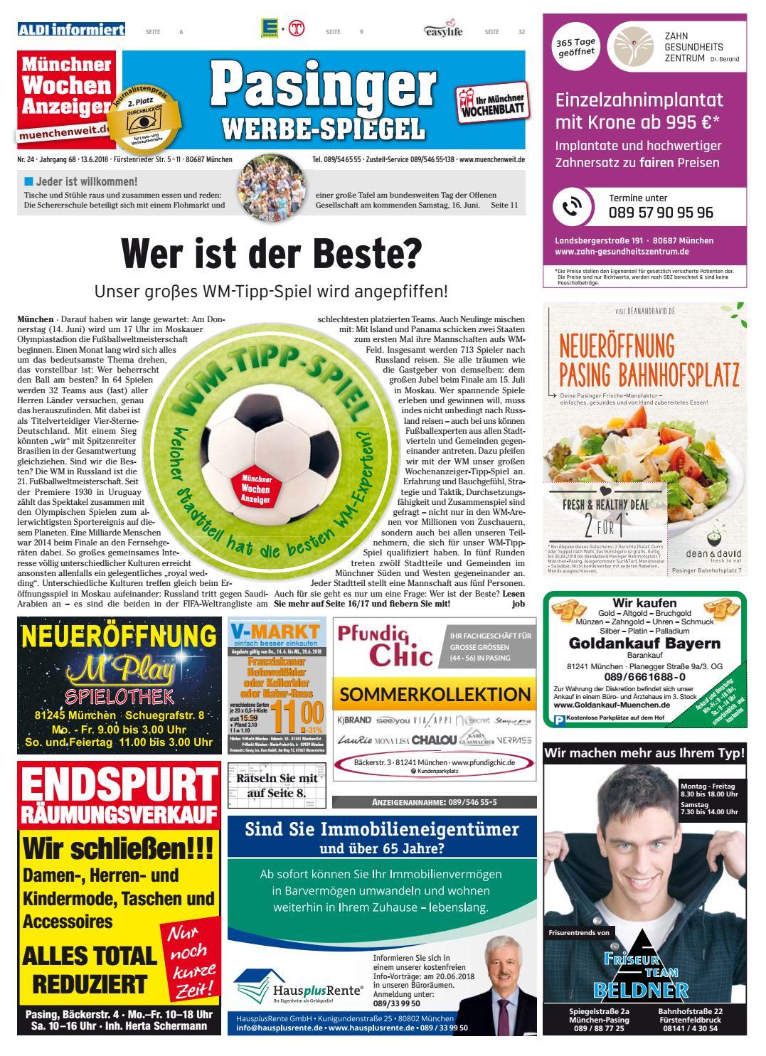 KW 24-2018 by Wochenanzeiger Medien GmbH - issuu