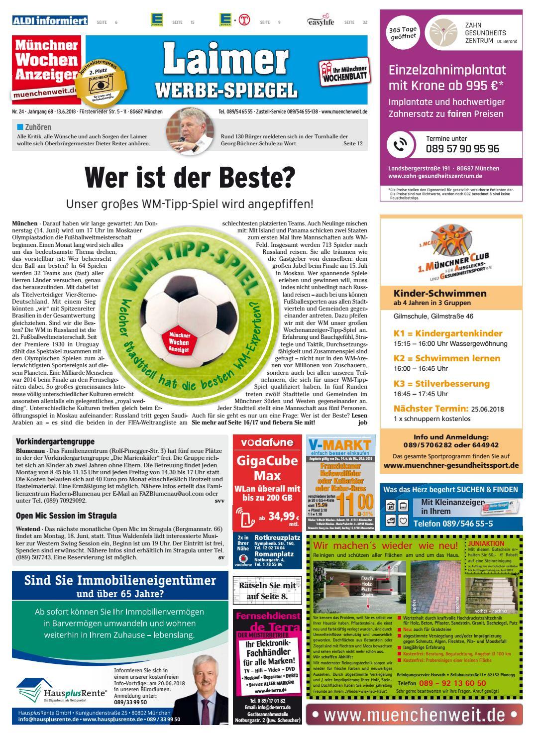 84de5afa94d2 KW 24-2018 by Wochenanzeiger Medien GmbH - issuu