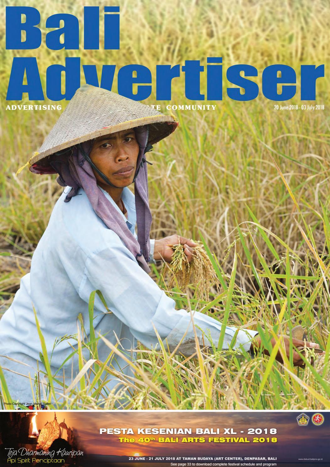 Ba 20 June 2018 By Bali Advertiser Issuu New Arrival Map Voucher 25juta Bonus 50k