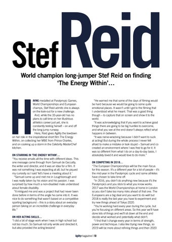 Page 10 of Stef Reid - The Energy Within