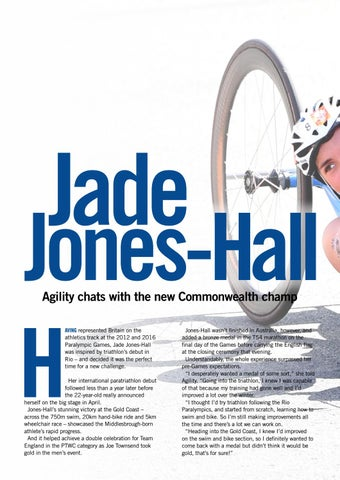 Page 20 of Jade Jones-Hall - Commonwealth Champ