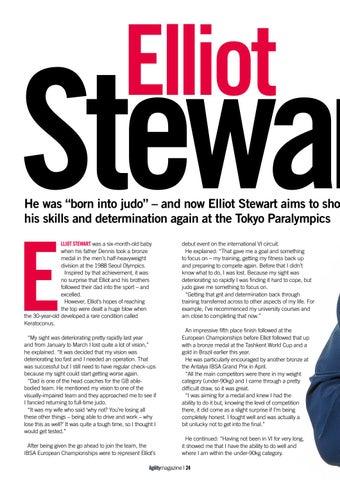 Page 24 of Elliot Stewart - Born into Judo
