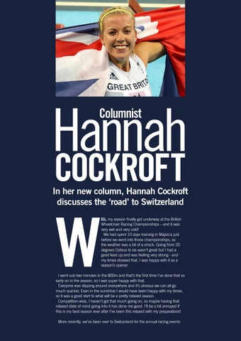 Page 28 of Hannah Cockcroft - My Road to Switzerland