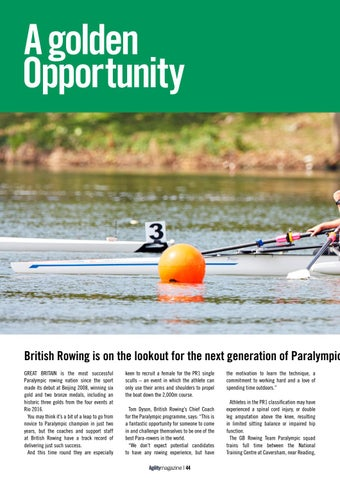 Page 44 of Para-rowing - A Golden Opportunity