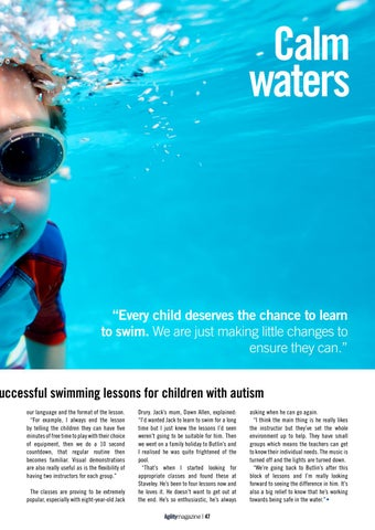 Page 47 of Swim England - Calm Water