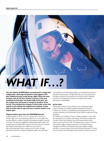 Page 16 of News Analysis: What if a pilot suddenly becomes unwell during a flight?
