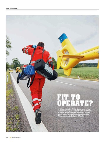 Page 18 of Special Report: Fit to operate? Health and fitness to fly of Technical Crew