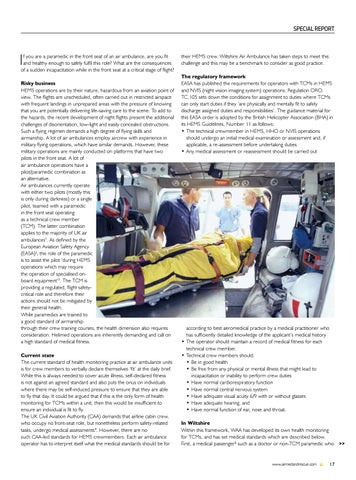 Page 19 of Special Report: Fit to operate? Health and fitness to fly of Technical Crew