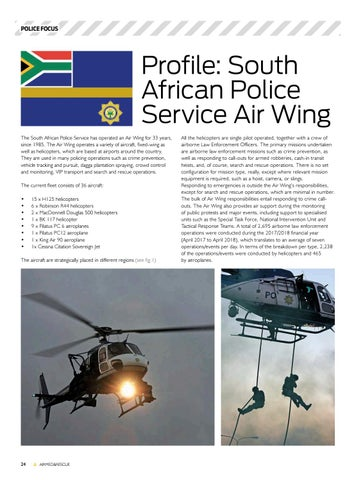Page 26 of Police Focus: South African Police Service Air Wing