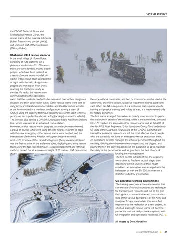 Page 29 of Special Report: Italian Army Mountain Troop Alpine Rescue Training