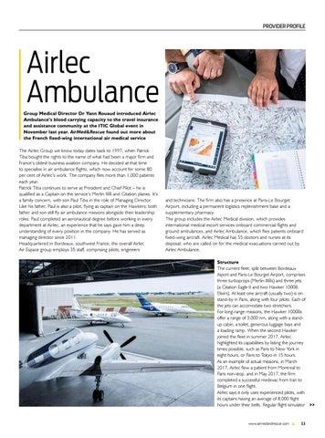Page 35 of Provider profile: Airlec Ambulance