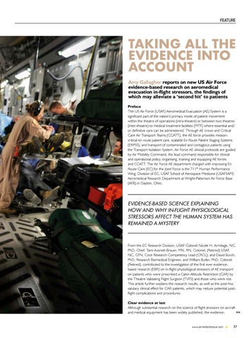 Page 39 of Feature: Taking all evidence into account