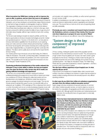 Page 45 of Profile: Professor David Lockey, the new National Director of the Welsh Flying Medics