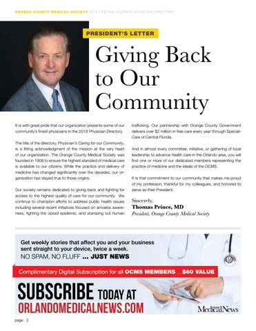 Page 3 of Orange County Medical Society