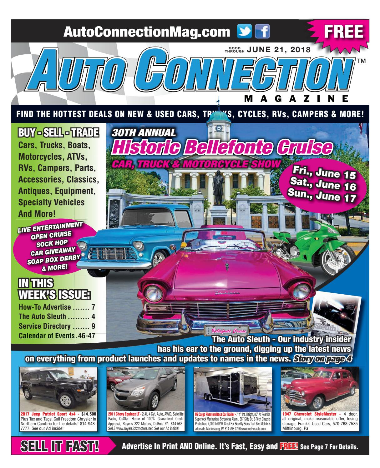 06-21-18 Auto Connection Magazine by Auto Connection Magazine - issuu