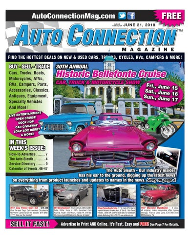 06-21-18 Auto Connection Magazine by Auto Connection