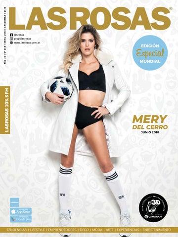 Mery Del Cerro - Edición 259 - Especial Mundial by Revista Las Rosas ... d820ef97d2418
