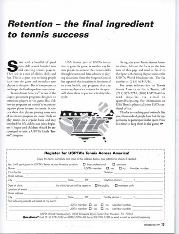 Page 15 of Retention - the final ingredient to tennis success