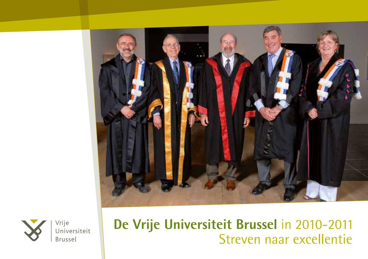 VUB jaarverslag 2010-2011 by Vrije Universiteit Brussel - issuu