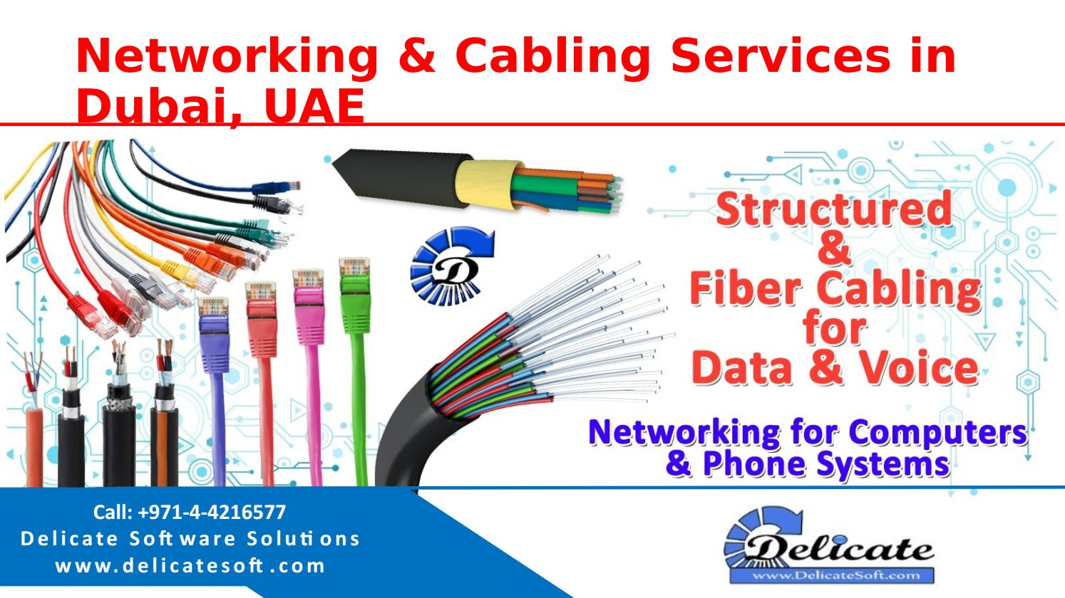 Computer networking cabling company dubai by