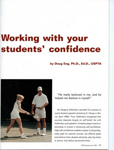 Page 17 of Working with your students' confidence