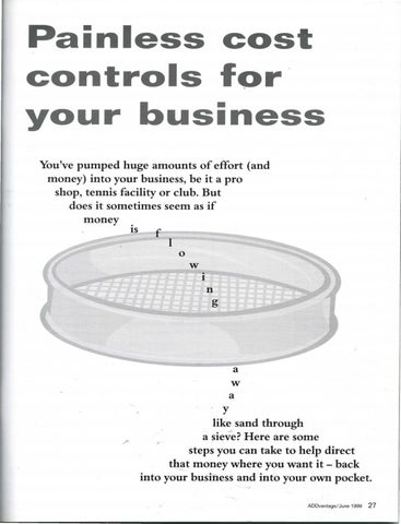 Page 29 of Painless cost controls for your business