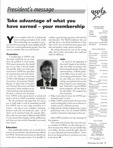 Page 7 of Take advantage of what you have earned- your membership