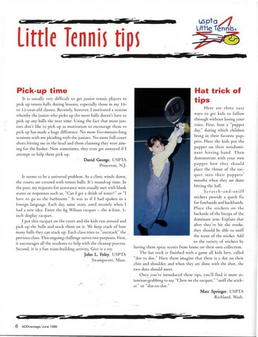 Page 8 of Little Tennis Tips